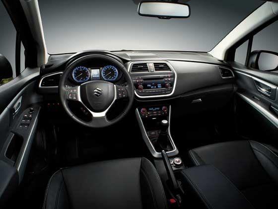 Suzuki new SX4 Crossover interior cabin