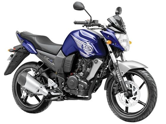 2013 Yamaha FZ-S in a new shade of  Tempest Blue