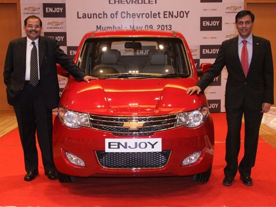 Chevrolet Enjoy launched