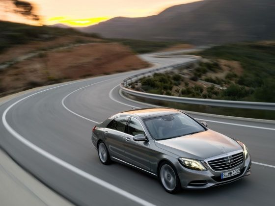 Mercedes-benz S-Class Action