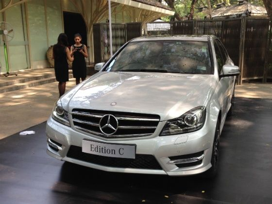 Mercedes Benz C Class Edition C Front
