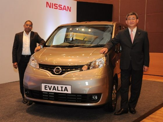 Nissan Evalia Refresh Launched