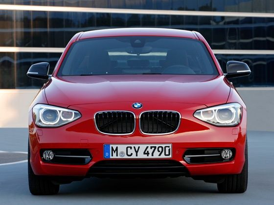 BMW 1-Series hatchback front