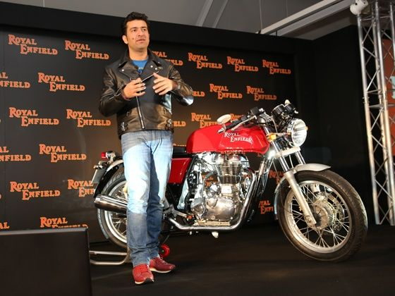 Siddartha Lal at the Continental GT press conference