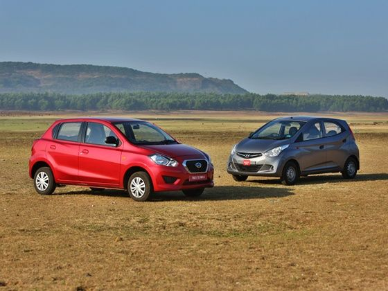Datsun Go vs Hyundai Eon Comparison
