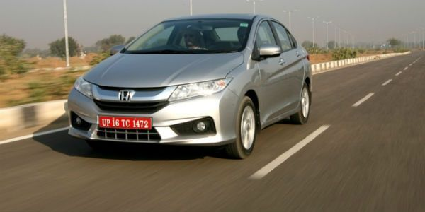 New Honda City Action Shot