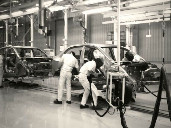Honda Amaze production at Tapukara plant