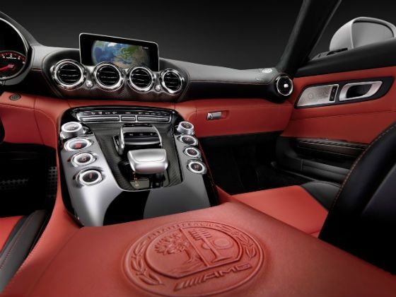 Mercedes-AMG GT centre console