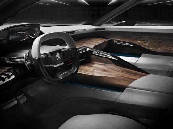 Peugeot Exalt concept interiors