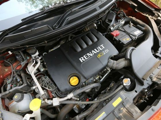 Renault Koleos 2.0-litre diesel engine