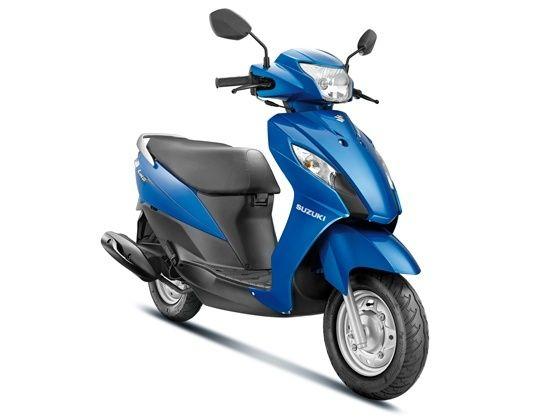 Suzuki Lets scooter