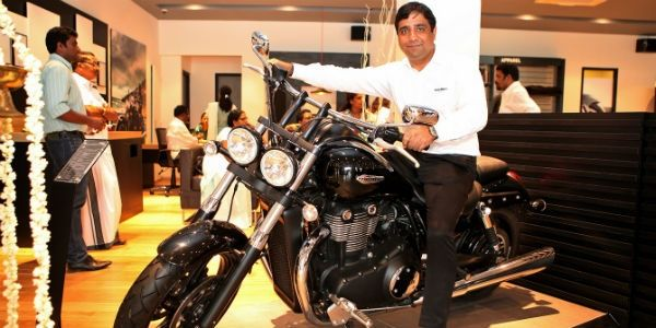 Triumph Motorcycles Kochi dealership