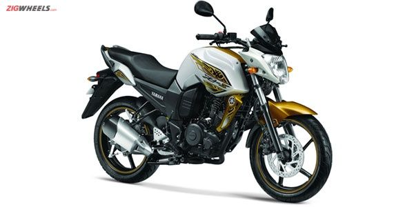Yamaha FZ-S new Hawk Eye Gold colour