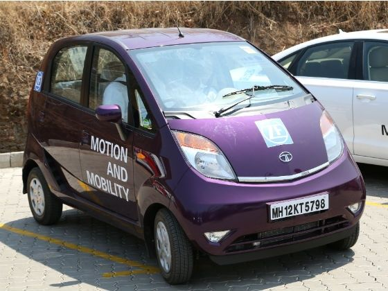 Tata Nano Twist with ZF column type EPS