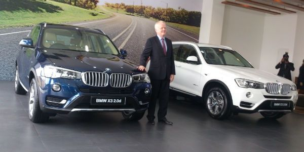 2014 BMW X3 launched in India