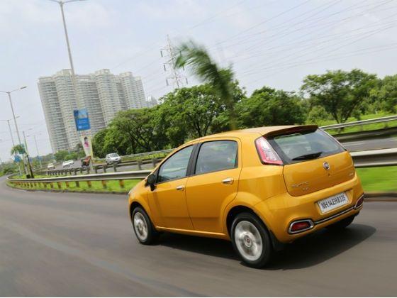 Fiat Punto Evo rear