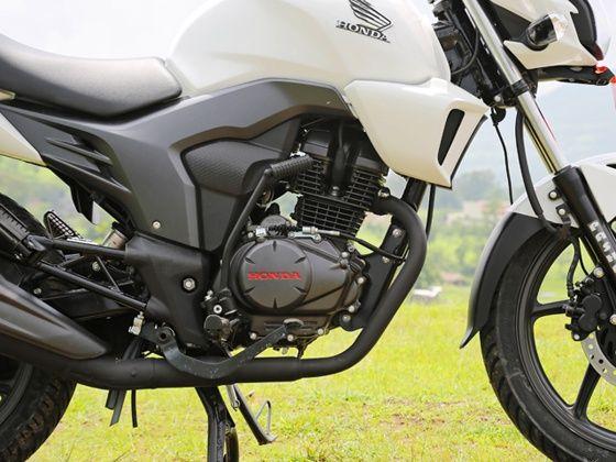 Honda CB Trigger engine