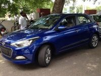 Hyundai Elite i20 spied in India