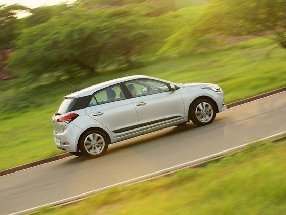 Hyundai Elite i20 in action
