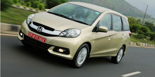 Honda Mobilio diesel in demand