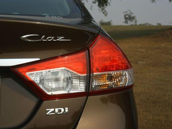 Maruti Ciaz rear badge