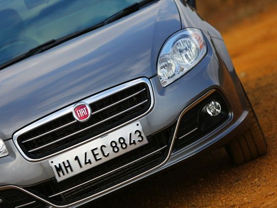 2014 New Fiat Linea front detail