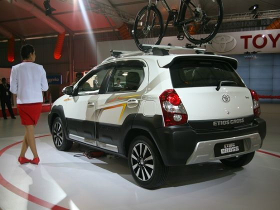 Toyota Etios Cross at Auto Expo 2014