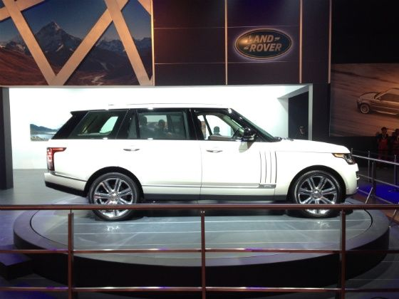 Range Rover long wheelbase launched in India
