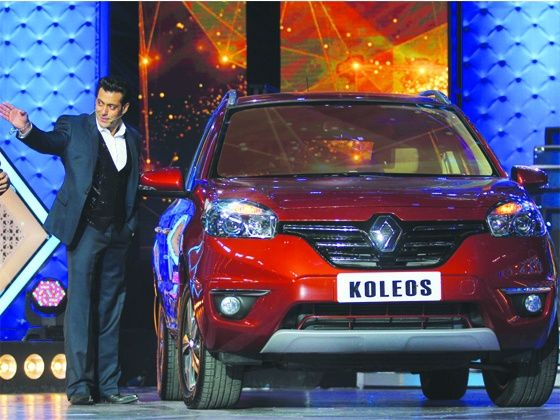Salman Khan is the owner of the first Renault Koleos
