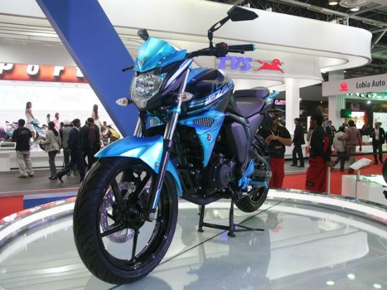Yamaha FZ Special Edition at the 2014 Auto Expo