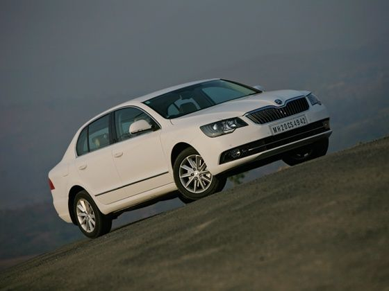 2014 New Skoda Superb front