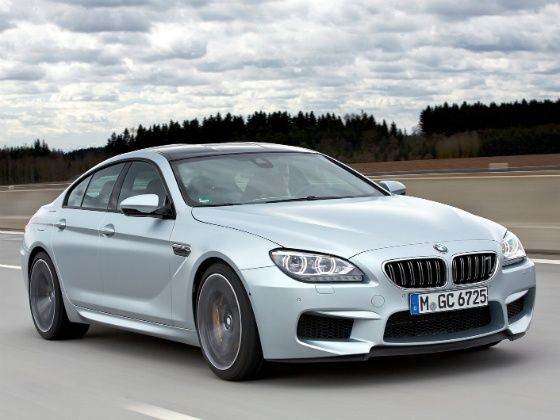 BMW M6 Gran Coupe at 2014 Indian Auto Expo
