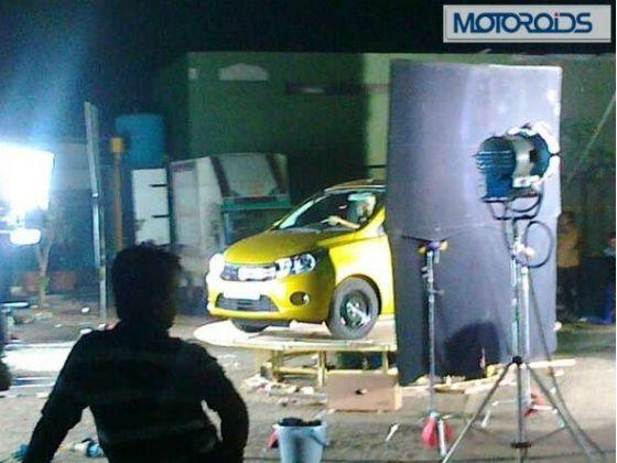 New Maruti Small car spy pic