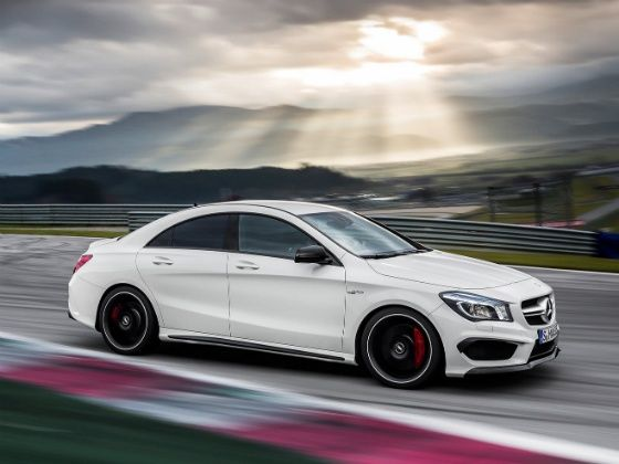 Mercedes-Benz at the 2014 Indian Auto Expo CLA-Class