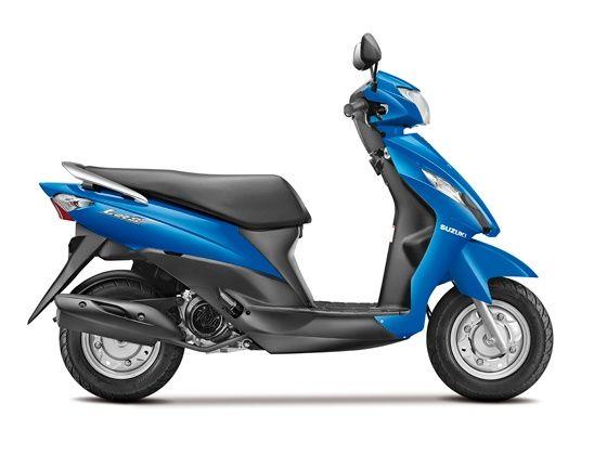 Suzuki Lets side view