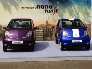 Tata Nano Twist static shot