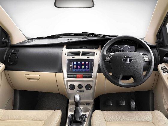 Tata Vista Tech variant launched Interior