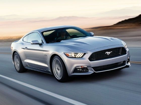 2015 Ford Mustang front tracking