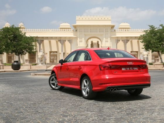 Audi A3 diesel rear design