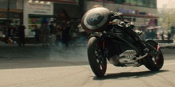 Harley-Davidson Project LiveWire in Avengers: Age of Ultron
