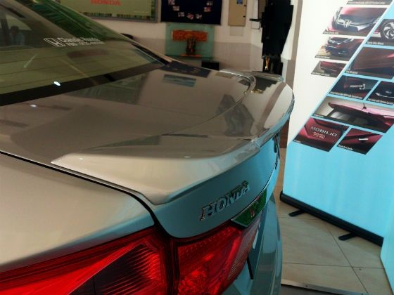 Honda City lip spoiler