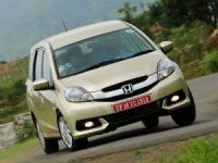 No AVN system, faux wood for Honda Mobilio