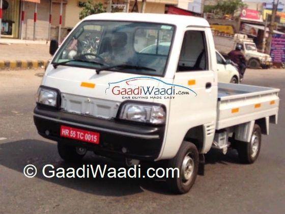 Maruti Y9T LCV caught testing without camouflage