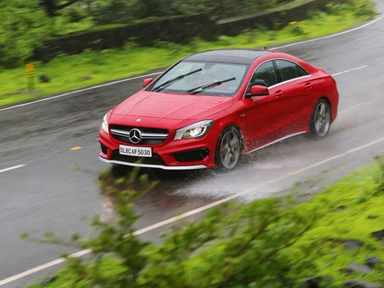 Mercedes-Benz CLA45 AMG launched