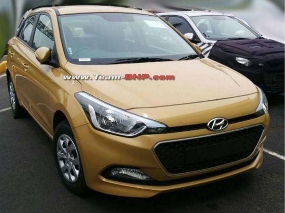 Hyundai i20 spy pic