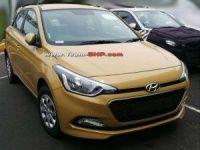 Next generation Hyundai i20 spy pics