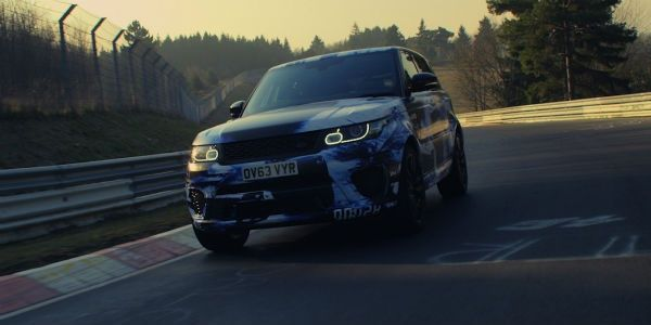 Range Rover Sport SVR at the Nordschleife