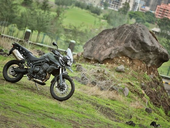 Triumph Tiger 800XC off-road