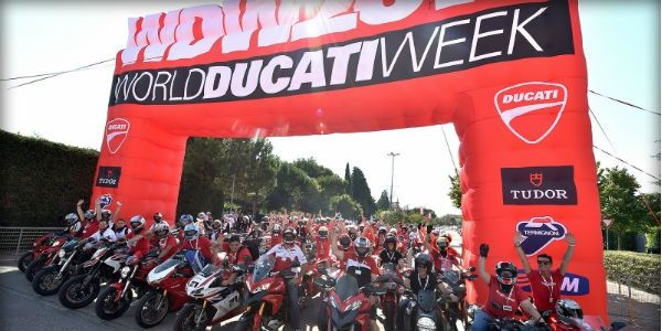 World Ducati Week at Misano