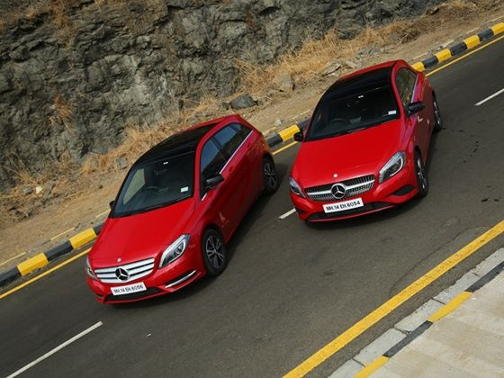 Mercedes-Benz A-Class and B-Class Edition 1 static shot